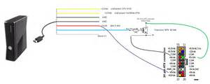 xbox 360 controller circuit board diagram usb connection wiring xbox free engine image for
