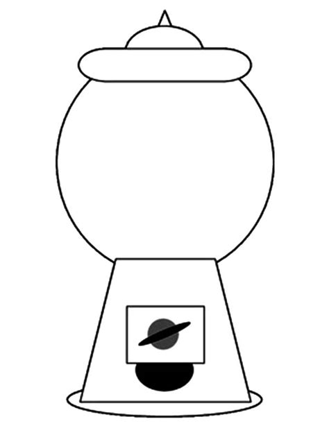 empty gumball machine clipart 23