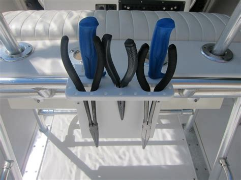 boat tool holder the best gaff holders and tool caddy i have seen yet