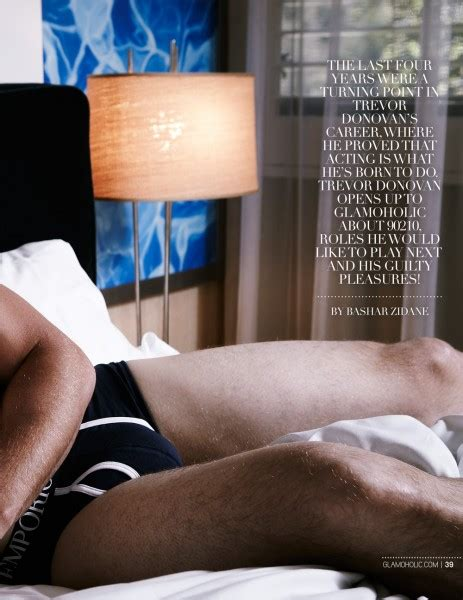 Trevor Donovan Covers The April 2013 Issue Of Glamoholic
