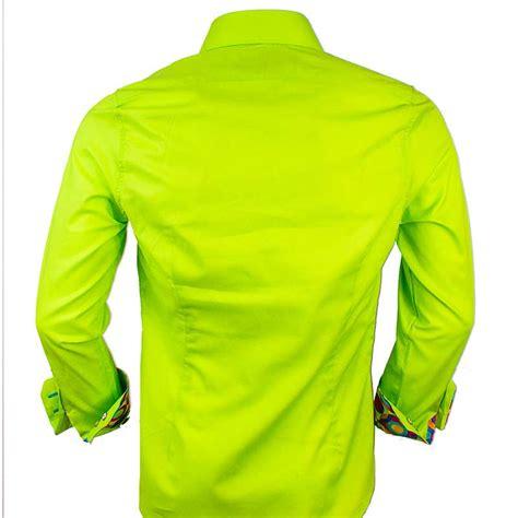Shirt Green Light lime green dress shirts