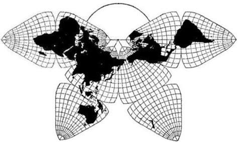 undistorted world map design