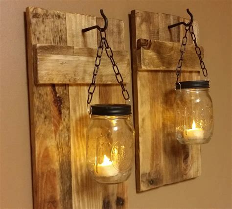 kerzenhalter outdoor diy jar sconce tutorial jar crafts