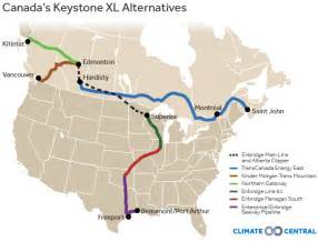 us canada pipeline map canada pushes ahead with alternatives to keystone xl