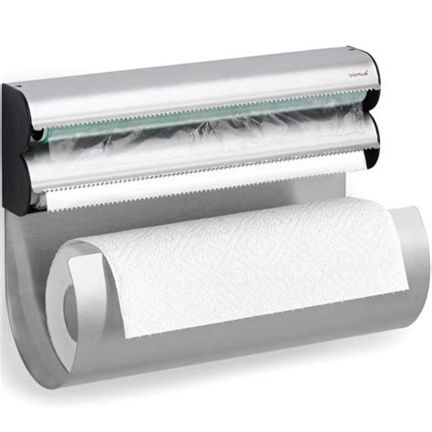 Kitchen Wrap Dispenser by Blomus Food Wrap And Paper Towel Dispenser In Paper Towel