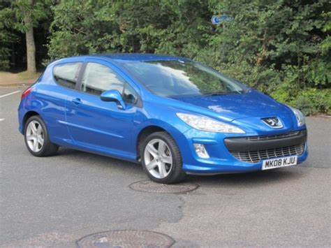Used Blue Peugeot 308 2008 Petrol Excellent Condition For