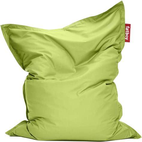 gros coussin de sol exterieur pouf the original outdoor pour l ext 233 rieur citron vert fatboy