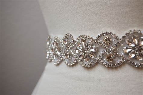 Rhinestone Belt gold bridal belt rhinestone belt eymbellish designs