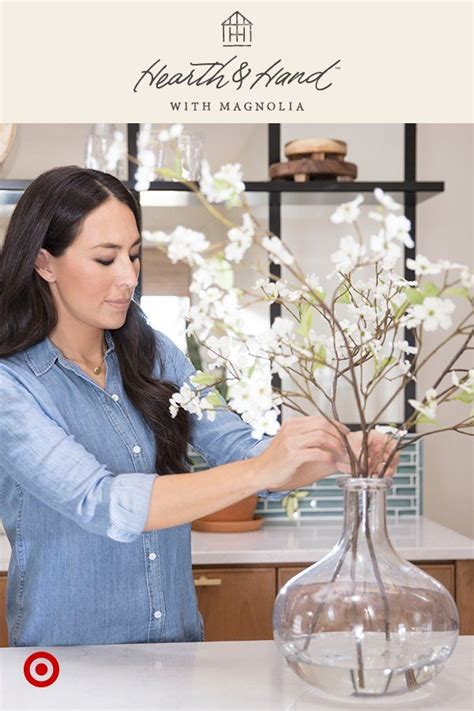 styling tip  joanna gaines add water  artificial