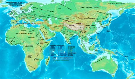 eastern hemisphere map world history maps by lessman