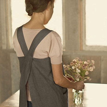 pattern cross back apron cross back apron flower love this and patterns