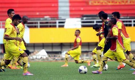 Kaos Barito Putera Squad 2017 pelatih sfc cepat passing jangan terlalu lama kuasai