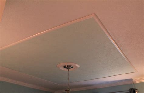 Faux Tray Ceiling With Molding how to create a faux tray ceiling and give your room character