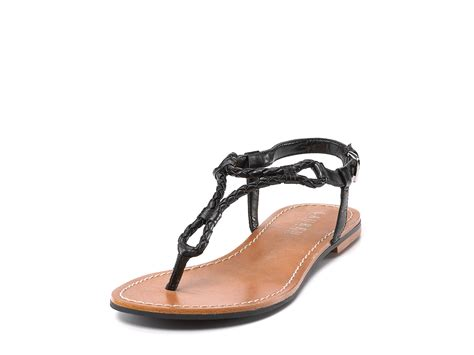 ralph flat shoes by ralph braided kidskin flat sandals
