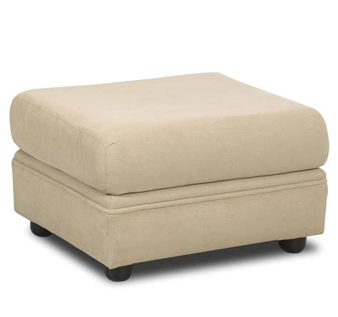 Klaussner Possibilities Box Seat Ottoman Value City Ottomans For Seating