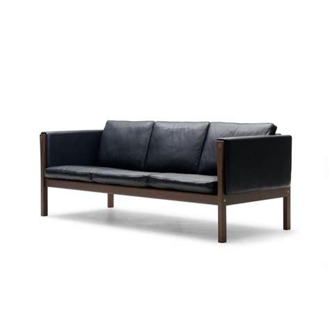 leather three seater sofa ch163 three seater sofa leather