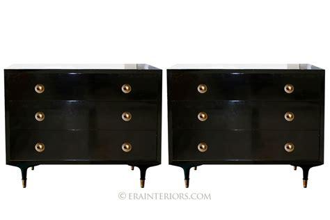 black lacquer dressers era interiors