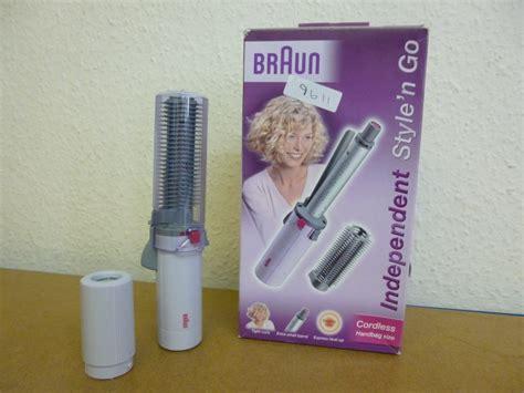 Braun Hair Styler Brush by Braun Independent Style N Go Cordless Hair Styler