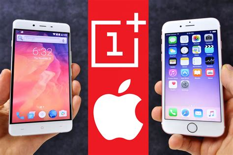 oneplus x vs iphone 6s comparison iphone 7 in disguise