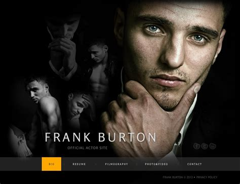 Actor Website Templates Free Actor Website Templates Themes Free Premium Free Premium Templates
