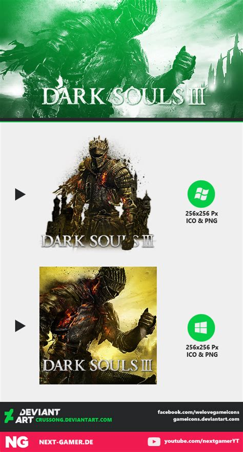 dark souls iii icon by crussong on deviantart