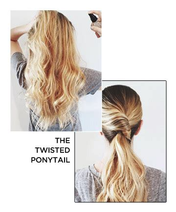 ponytail hairstyles games the twisted ponytail 25 ways to step up your ponytail
