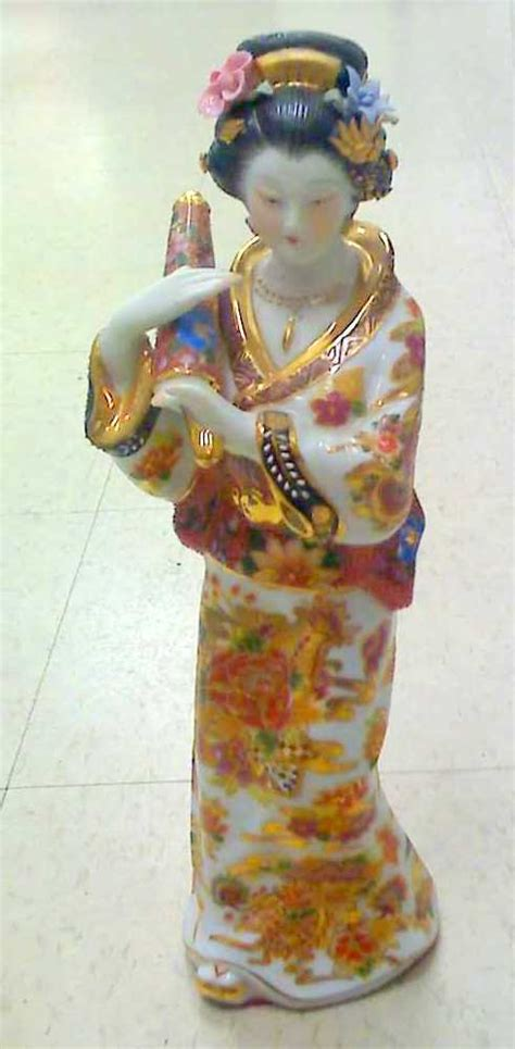 Free Home Decor Magazines Canada by 12 Quot Japanese Porcelain Geisha Doll Figurine Painted