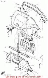 yamaha g16 ap ar 1996 1997 body 1 schematic partsfiche