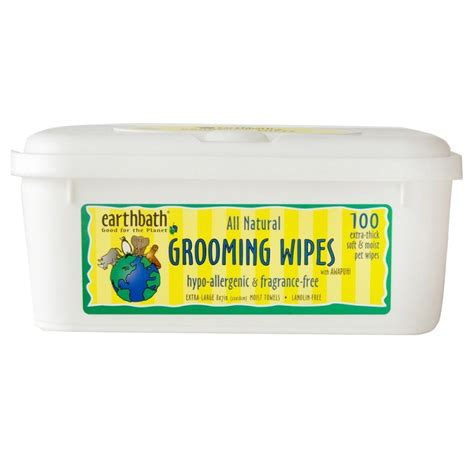 puppy wipes earthbath hypo allergenic grooming wipes for dogs naturalpetwarehouse