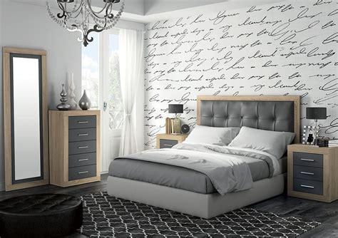 cabeceros de piel modernos moderno dormitorio de matrimonio compuesto por cabecero