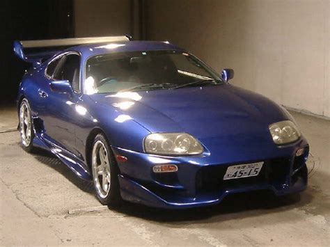 Toyota Supra 2000 2000 Toyota Supra Rz S Turbo 6 Speed In Blue
