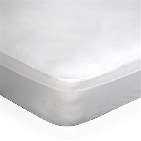 mattress protector bed bath and beyond dreamserene 174 smooth sleep waterproof mattress protector