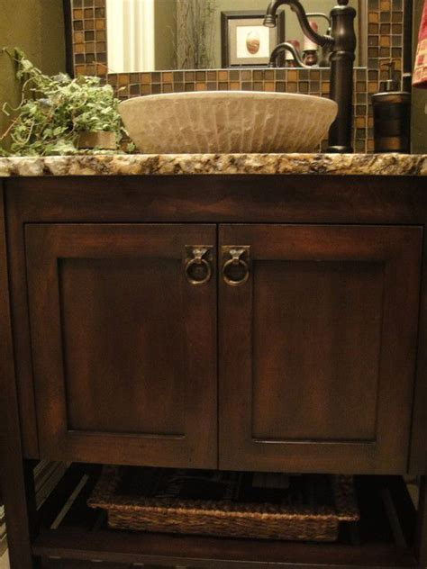powder room vanities with vessel sinks half bath design pictures remodel decor and ideas