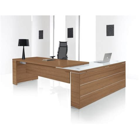 bureau direction design bureau direction design kara avec retour en verre