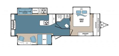 denali rv floor plans 2017 dutchmen denali 287re