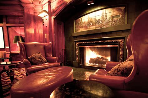fireside room   sorrento hotel seattle downtown
