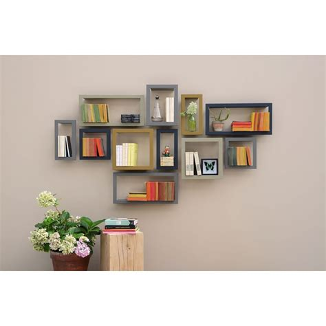 Home Decoration Wall by Etag 232 Re Murale Design Highstick Etagere Presse Citron