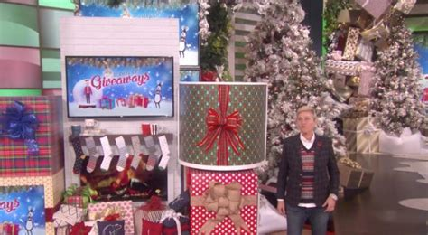 Ellen Degeneres 12 Days Of Giveaways 2016 - here s how day 10 of the ellen show s 12 days of giveaways went down in 2016 empty