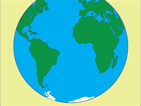 Simple Earth Drawing