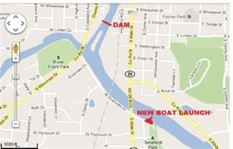 public boat launch rock river southeast wisconsin fishing report rock river resources