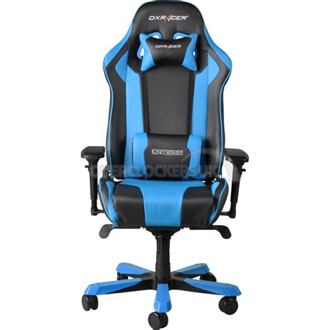 Gaming Chair Dxracer by Dxracer King Series Gaming Chair Black Blue Oh Kf06 Nb