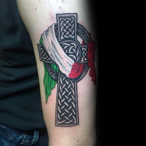 italian tattoos for men 40 italian flag ideas for italy designs