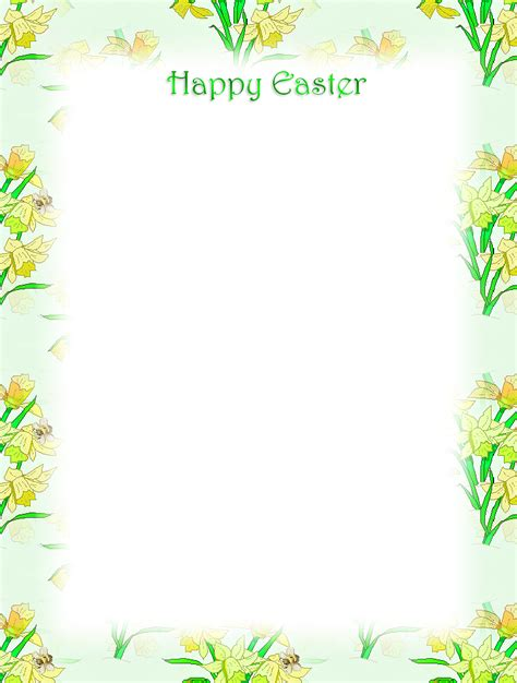 free printable unlined stationery free printable unlined easter stationery holiday money