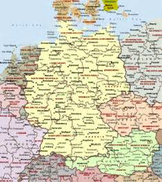 Political Map Of Germany by Germany Political Map Romania Maps And Views