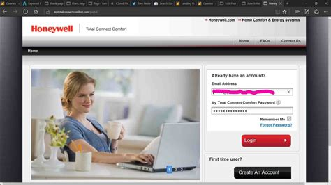 honeywell comfort connect how to register honeywell wi fi thermostat online for