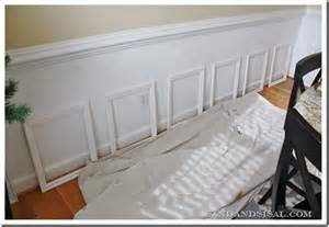 How To Put Wainscoting On Walls Picture Frame Wainscoting On