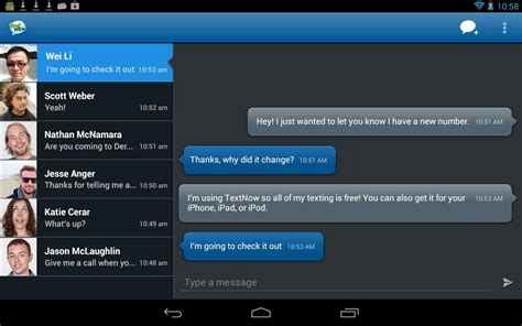 text now apk textnow android apps on play