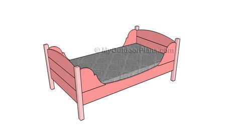 toddler bed frame plans platform bed frame plans myoutdoorplans free