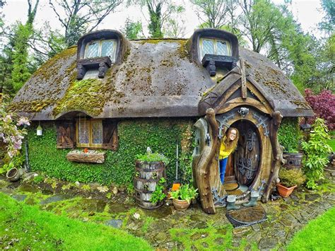 Hobbit House by A Gorgeous Real World Hobbit House In Scotland