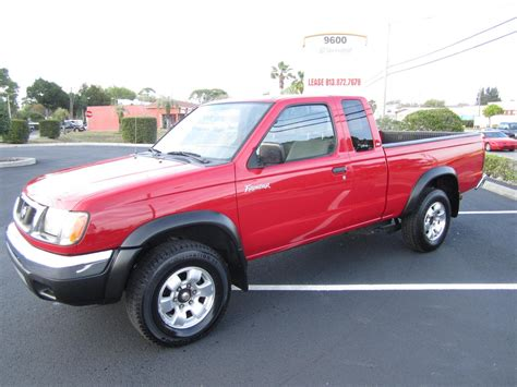 Nissan Frontier Xe 2000 Sold 2000 Nissan Frontier Xe V6 Desert Runner Meticulous